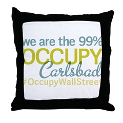 Occupy Carlsbad NM Throw Pillow
