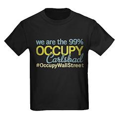 Occupy Carlsbad NM Kids Dark T-Shirt