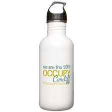 Occupy Cardiff Water Bottle