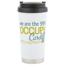 Occupy Cardiff Travel Coffee Mug