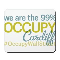 Occupy Cardiff Mousepad