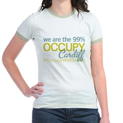 Occupy Cardiff Jr. Ringer T-Shirt