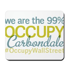 Occupy Carbondale Mousepad