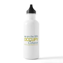 Occupy Caracas Water Bottle