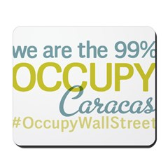 Occupy Caracas Mousepad