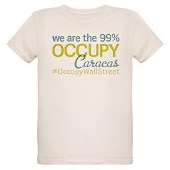 Occupy Caracas Organic Kids T-Shirt
