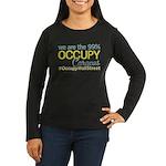 Occupy Caracas Women's Long Sleeve Dark T-Shirt