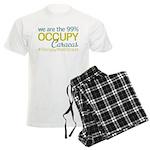 Occupy Caracas Men's Light Pajamas