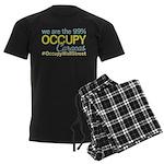 Occupy Caracas Men's Dark Pajamas