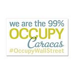 Occupy Caracas Car Magnet 20 x 12