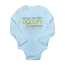 Occupy Campinas Long Sleeve Infant Bodysuit