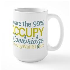 Occupy Cambridge Large Mug