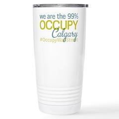 Occupy Calgary Travel Mug