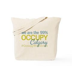 Occupy Calgary Tote Bag