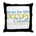 Occupy Calcutta Throw Pillow