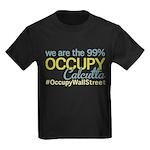 Occupy Calcutta Kids Dark T-Shirt