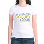 Occupy Calcutta Jr. Ringer T-Shirt