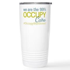 Occupy Cairo Travel Mug