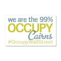 Occupy Cairns Car Magnet 20 x 12