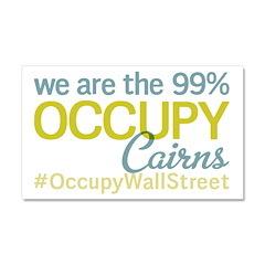 Occupy Cairns Car Magnet 20 x 12