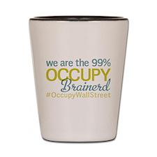 Occupy Brainerd Shot Glass