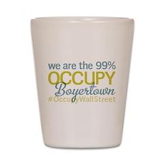Occupy Boyertown Shot Glass