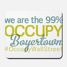 Occupy Boyertown Mousepad