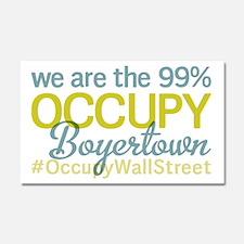Occupy Boyertown Car Magnet 20 x 12