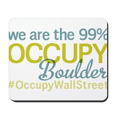 Occupy Boulder Mousepad