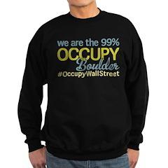 Occupy Boulder Sweatshirt (dark)