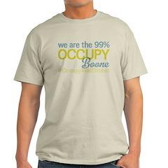 Occupy Boone Light T-Shirt