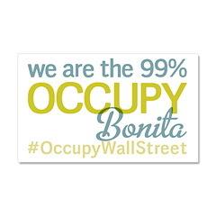 Occupy Bonita Springs Car Magnet 20 x 12