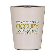 Occupy Bolingbrook Shot Glass