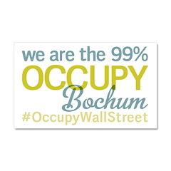 Occupy Bochum Car Magnet 20 x 12