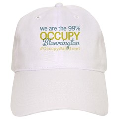 Occupy Bloomington Baseball Cap