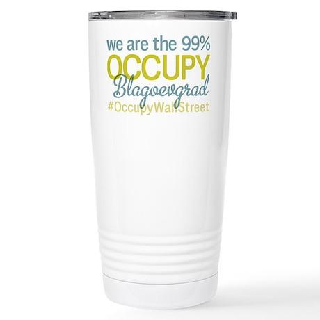 Occupy Blagoevgrad Stainless Steel Travel Mug