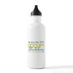Occupy Blacksburg Water Bottle