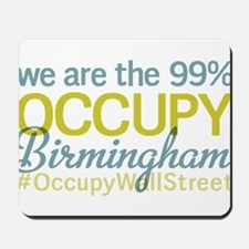 Occupy Birmingham Mousepad