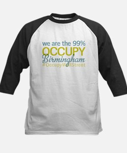 Occupy Birmingham Kids Baseball Jersey