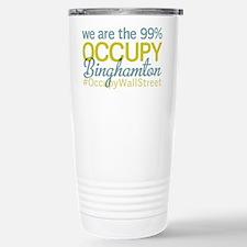 Occupy Binghamton Stainless Steel Travel Mug