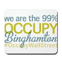 Occupy Binghamton Mousepad