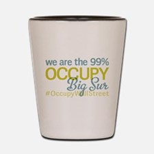 Occupy Big Sur Shot Glass