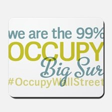 Occupy Big Sur Mousepad