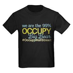 Occupy Big Bear City Kids Dark T-Shirt