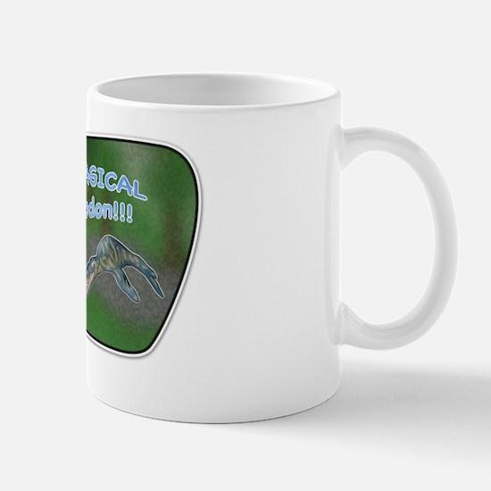 It's a magical liopleurodon!! Mug