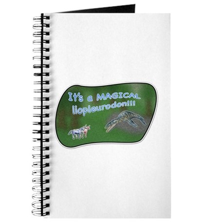 It's a magical liopleurodon!! Journal