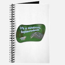 It's a magical liopleurodon!! Journal