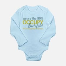 Occupy Bielefeld Long Sleeve Infant Bodysuit