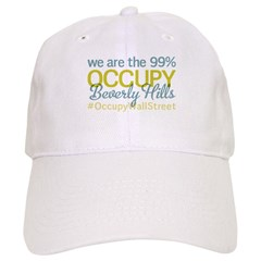 Occupy Beverly Hills Baseball Cap