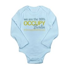 Occupy Berlin Long Sleeve Infant Bodysuit